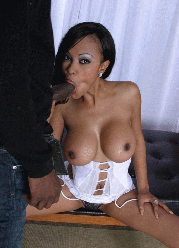 black c cups breasts