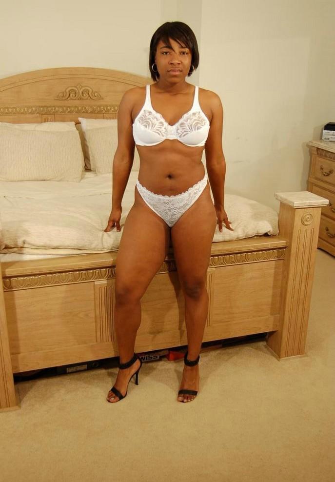 nude chubby black hair