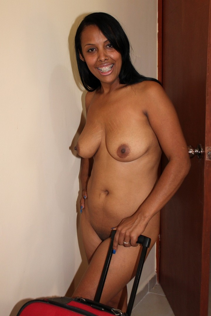 busty ebony blonde