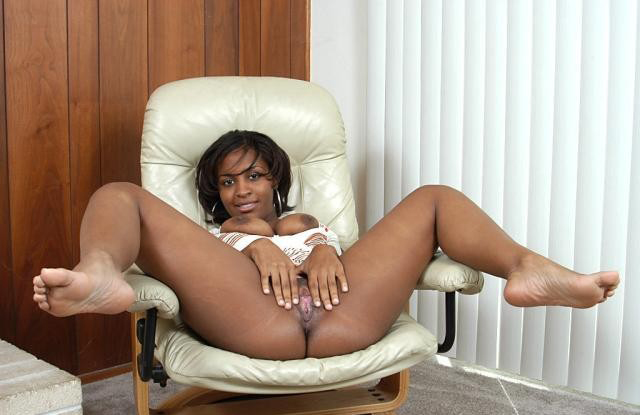horny black chick