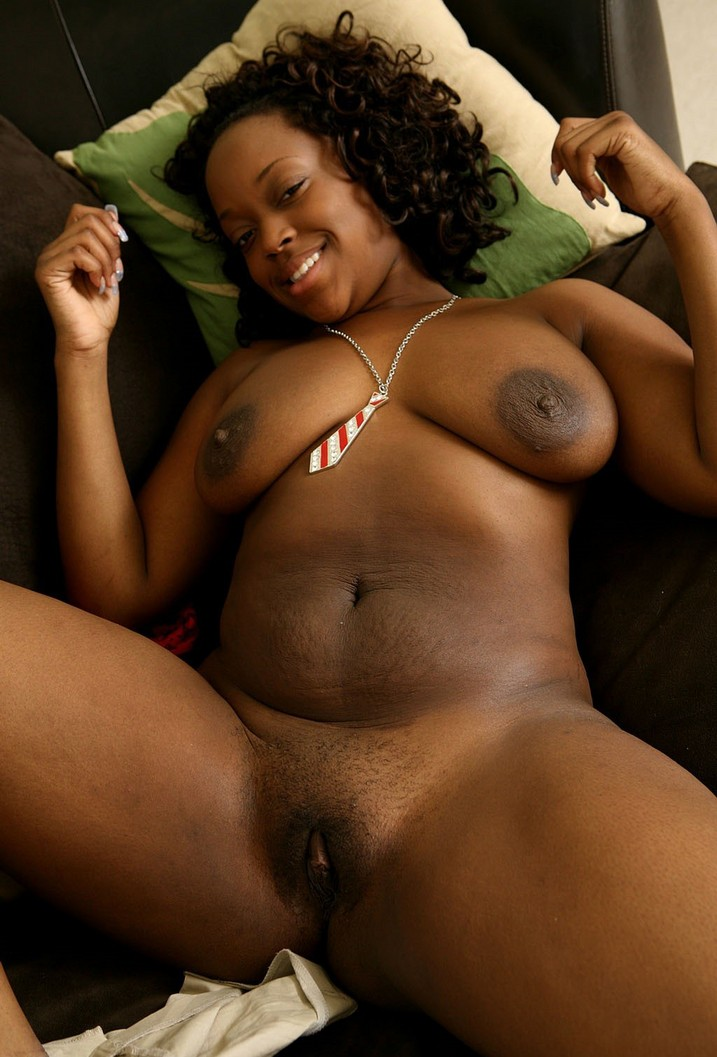 naked fat ebony